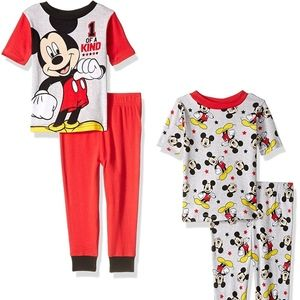 Mickey Mouse Clubhouse 4-piece Pajama Set